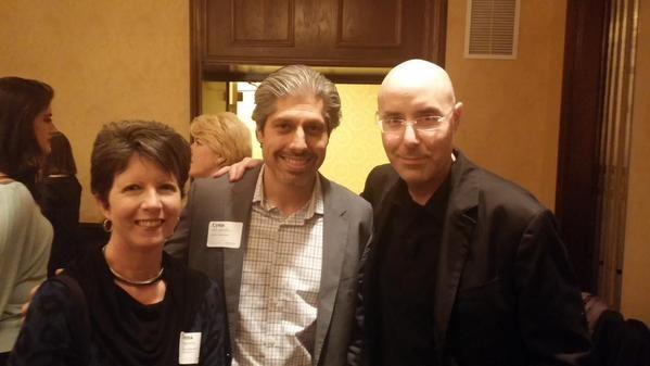 IABC members with Mitch Joel