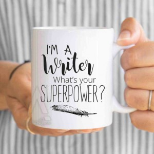 What's your superpower? mug