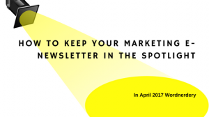 E-newsletter tips