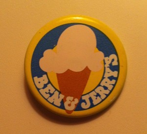 Ben & Jerry's pin