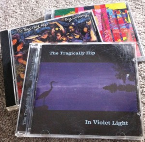 Tragically Hip CDs