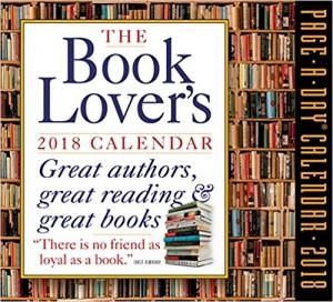Book lover's calendar