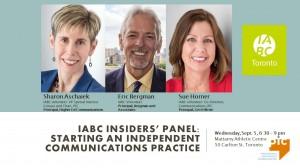 IABC/Toronto insider panel