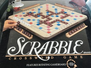 Scrabble game for word nerds