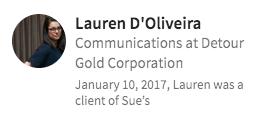 Lauren D'Oliveira