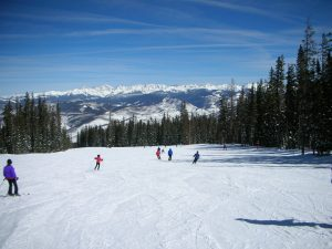 Beaver Creek ski hill