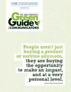 Going green? Get the guide