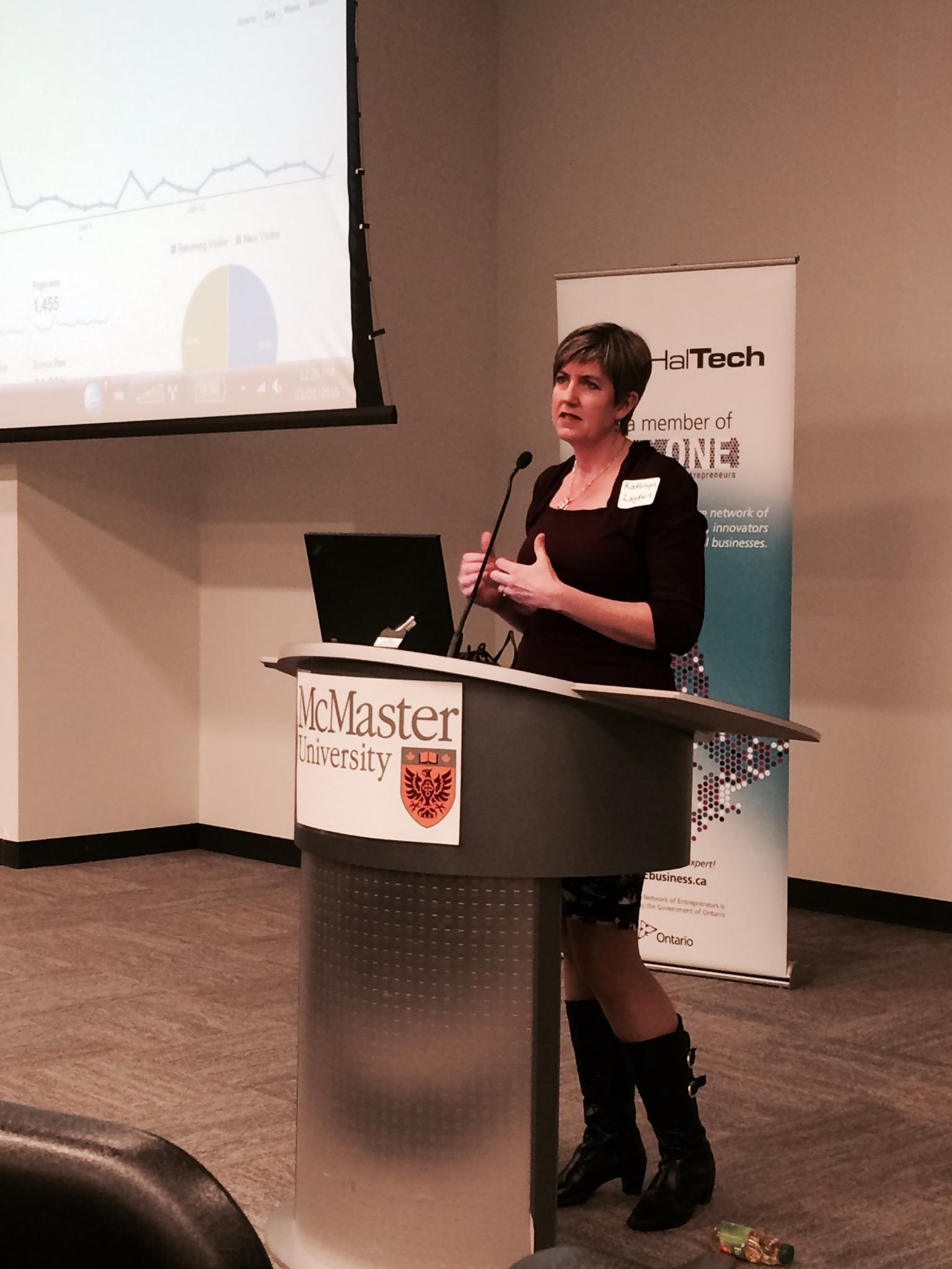 Kathryn Lagden talks about web analytics