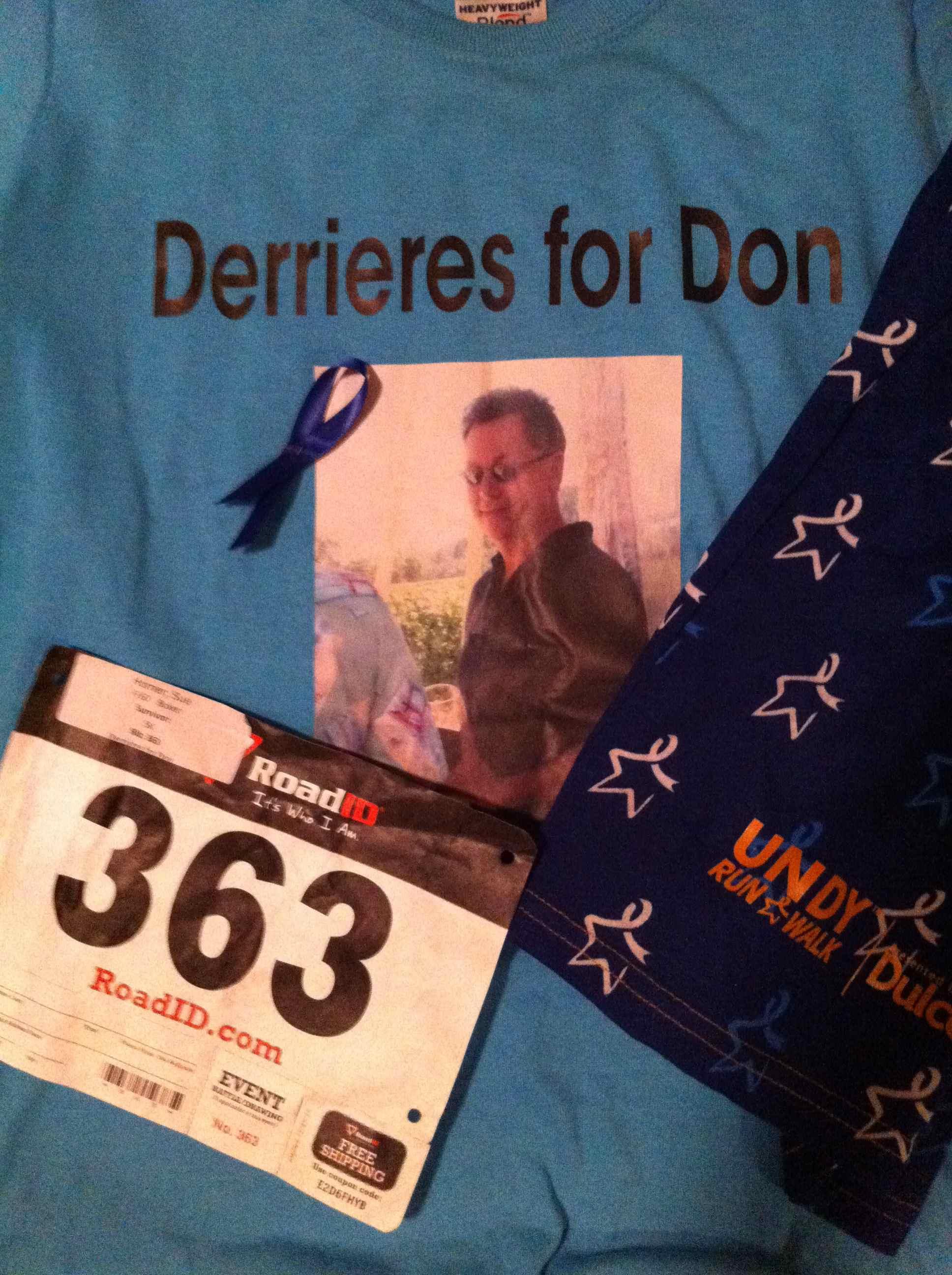 Undy Run for colon cancer