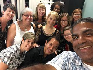 Selfie at PIC meeting