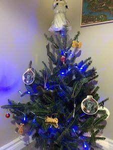 Mini elf Christmas tree