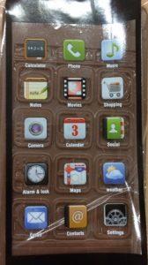 Chocolate cellphone