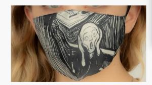 """The Scream"" mask"